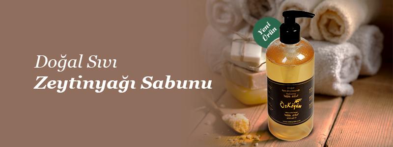 Doğal Sıvı Zeytinyağı Sabunu Satışta!